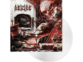 Deicide -Overtures of blasphemy lp 2018 white vinyl ltd 200