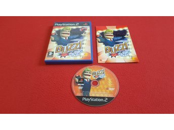 BUZZ THE BIG QUIZ till Sony Playstation 2 PS2