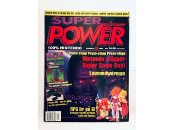 "Super Power Nr 3 1994 ""Nintendo släpper Super Game Boy"""