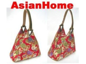 *AsianHome* NY! Japanska Embroided Satin Handväskor (b1)