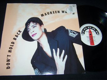 "MAUREEN WALSH - DON´T HOLD BACK 12"" 1990"