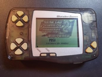 WonderSwan Skeleton Black - Fullt fungerande!