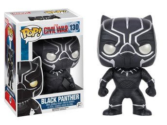 Funko POP MARVEL CAPTAIN AMERICA BLACK PANTHER