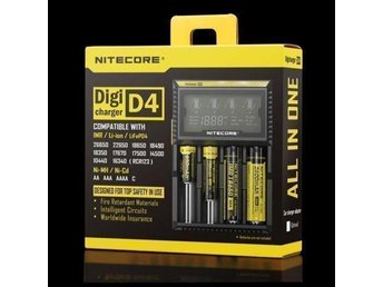 REA! Spara pengar och gör en insats för miljön! -Nitecore D4 LCD [NC12] - Rönninge - REA! Spara pengar och gör en insats för miljön! -Nitecore D4 LCD [NC12] - Rönninge