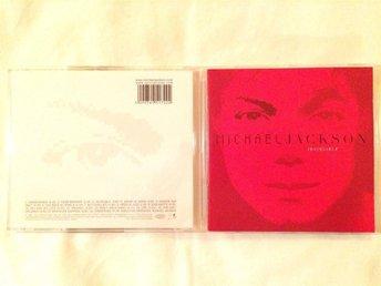 Michael Jackson Invincible CD 2001 Röd/Red Cover - älvängen - Michael Jackson Invincible CD 2001 Röd/Red Cover - älvängen