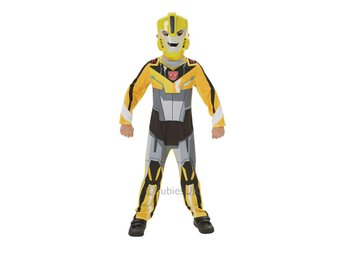 TRANSFORMERS Bumble Bee 110/116cl (5-6 år) Dräkt med mask
