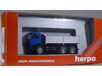 Herpa H0 1:87 nr 143677 Scania lastbil - Halmstad - Herpa H0 1:87 nr 143677 Scania lastbil - Halmstad
