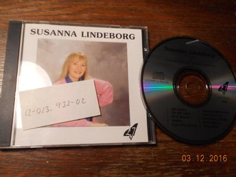 SUSANNA LINDEBORG - Piano and Synthesizers, CD LJ Records 1989 Ove Johansson
