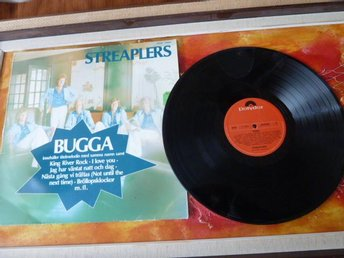 STREAPLERS, BUGGA, I LOVE YOU, 1975, LP, LP-SKIVA