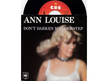 "Ann Louise Hanson ""Don´t darken my doorstep"" 7"""
