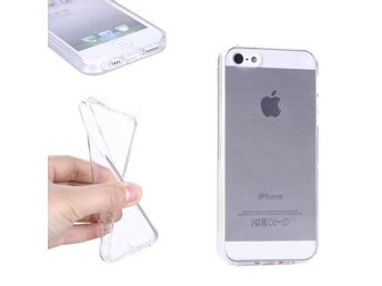 iphone 5/5s - Ultratunt Skal Transparent