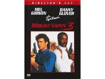 DVD - Dödligt vapen 3 (Lethal Weapon 3) (Beg) - Hyssna - DVD - Dödligt vapen 3 (Lethal Weapon 3) Action från 1992 av Richard Donner med Mel Gibson och Danny Glover. Begagnad DVD i bra skick. I en av sina mest kända roller spelar Clint Eastwood en polis som ser till att få jobbet gjort. En prickskyt - Hyssna