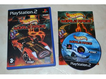 Hot Wheels World Race PS2 Playstation 2 Komplett Fint Skick
