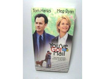 YOU´VE GOT MAIL - TOM HANKS (VHS FILM - SVENSK TEXT )