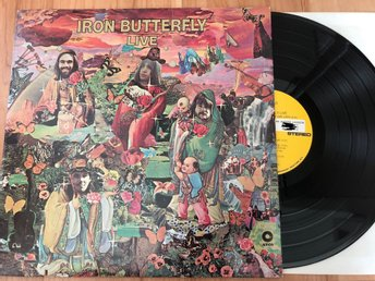 Iron Butterfly - Live LP US 1970