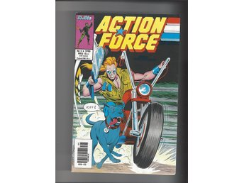 Action Force 2 st 5,6 1990 skick vf