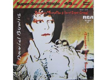 "David Bowie 12"" Scary Monsters (And Super Creeps) / Because You're Young"
