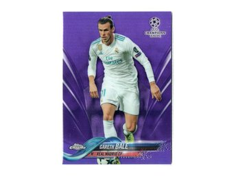 17-18 Topps UEFA Champions League Chrome Purple Gareth Bale /250