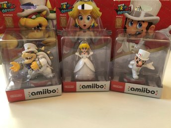 3st Super Mario Odyssey Amiibo The Wedding