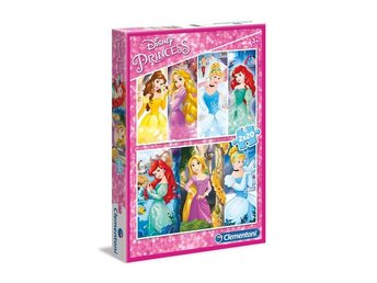 2x20 pcs. Puzzles Kids Special Collection Princess