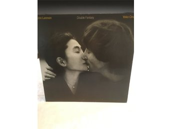 John Lennon, Original vinyl LP, Double Fantasy, CAN-80, w Yoko