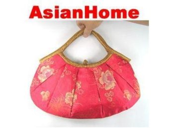 *AsianHome* NY! Japanska Embroided Satin Handväskor (b10)