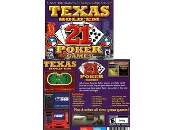 Texas Hold ' em / 21 Poker Games / till PC o MAC NY <---- JULKLAPP