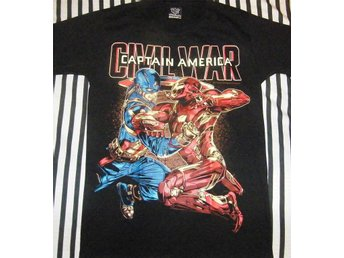 T-SHIRT: CAPTAIN AMERICA  (Str M)