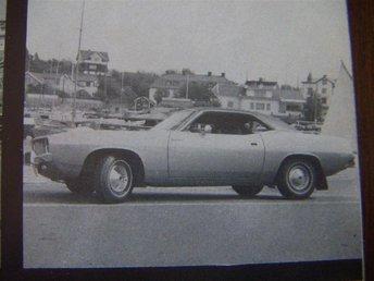 Plymouth Barracuda - Road test - - Skärholmen - Plymouth Barracuda - Road test - - Skärholmen