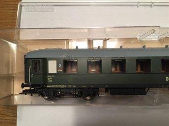 """Fleischmann 5745 passagerarvagn, 1. 2. klass, """"DR"""", DC - Stockholm - Fleischmann 5745 passagerarvagn, 1. 2. klass, """"DR"""", DC - Stockholm"""