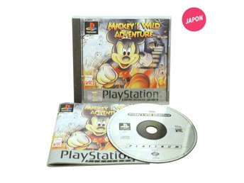 Mickey's Wild Adventure (EUR / PS1)