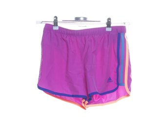 Adidas, Shorts, Strl: 36, Lila/Orange