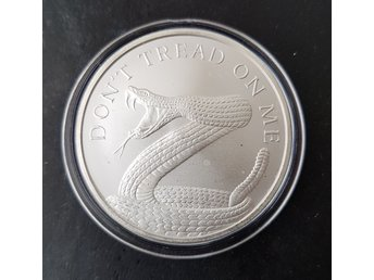 Snake - don't tread on me - 2015 - 1oz Ag