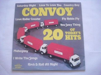 Convoy 20 of todays hits LP Homestead rec 76 funk soul disco