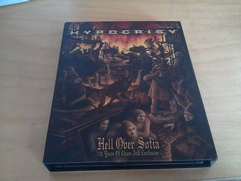 Hypocrisy - Hell over Sofia - Live 2 CD plus DVD