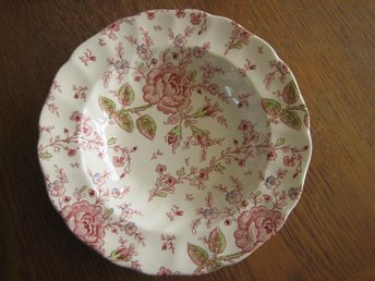 Johnson Bros Rose Chintz Tallrik djup