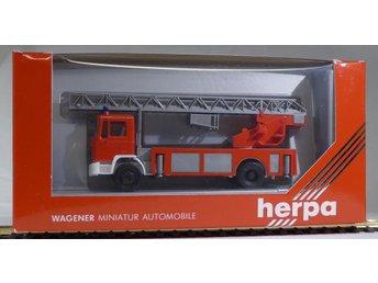 Herpa H0 1:87 nr 866005 MAN brandbil - Halmstad - Herpa H0 1:87 nr 866005 MAN brandbil - Halmstad
