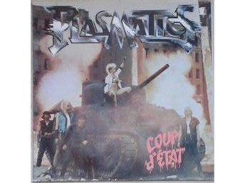 Plasmatics title* Coup D'Etat*Netherlands LP - Hägersten - Plasmatics title* Coup D'Etat*Netherlands LP - Hägersten