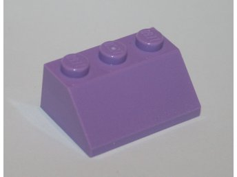 LEGO - Takbit/ Slope - 2x3 - Medium Lavender - 6036782  - 3038