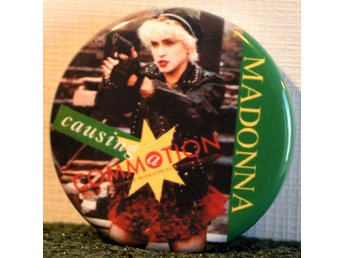 Madonna - badge/pin/knapp - 25mm