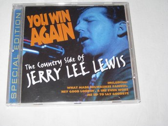 JERRY LEE LEWIS    YOU WIN AGAIN         CD