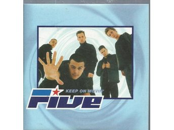 FIVE - KEEP ON MOVIN  ( CD SINGLE )