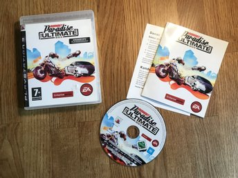 BURNOUT PARADISE ULTIMATE BOX PS3 PLAYSTATION 3 OK SKICK