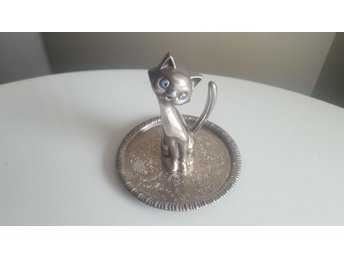 Vintage-EP-Zinc-Alloy-Silver-Kitty