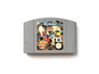 Micro Machines 64: Turbo - Nintendo 64 / N64 - PAL - EUR