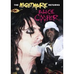DVD Alice Cooper The nightmare returns