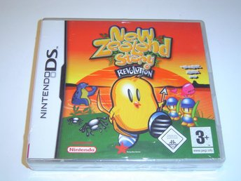 NEW ZEALAND STORY REVOLUTION NINTENDO DS NDS *NYTT*