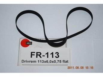 FR-113 Flat drivrem diameter 113mm