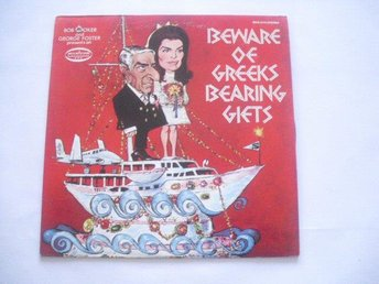 Bob Booker and George Foster -Beware of greeks bearing gifts