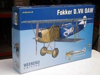 Eduard 1/48 Fokker D.VII OAW - Weekend Edition - Skoghall - Eduard 1/48 Fokker D.VII OAW - Weekend Edition - Skoghall